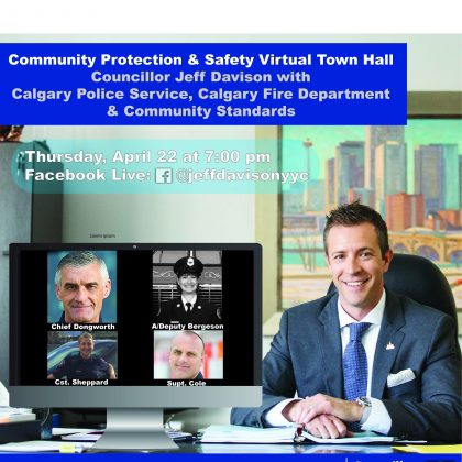 Monthly Virtual Town Hall with Councillor Davison